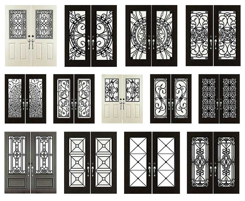 Wrought-Iron-Door-inserts